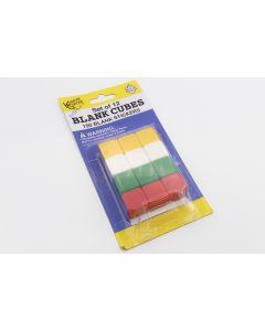 Set Blankowürfel 6-seitig mit Aufklebern