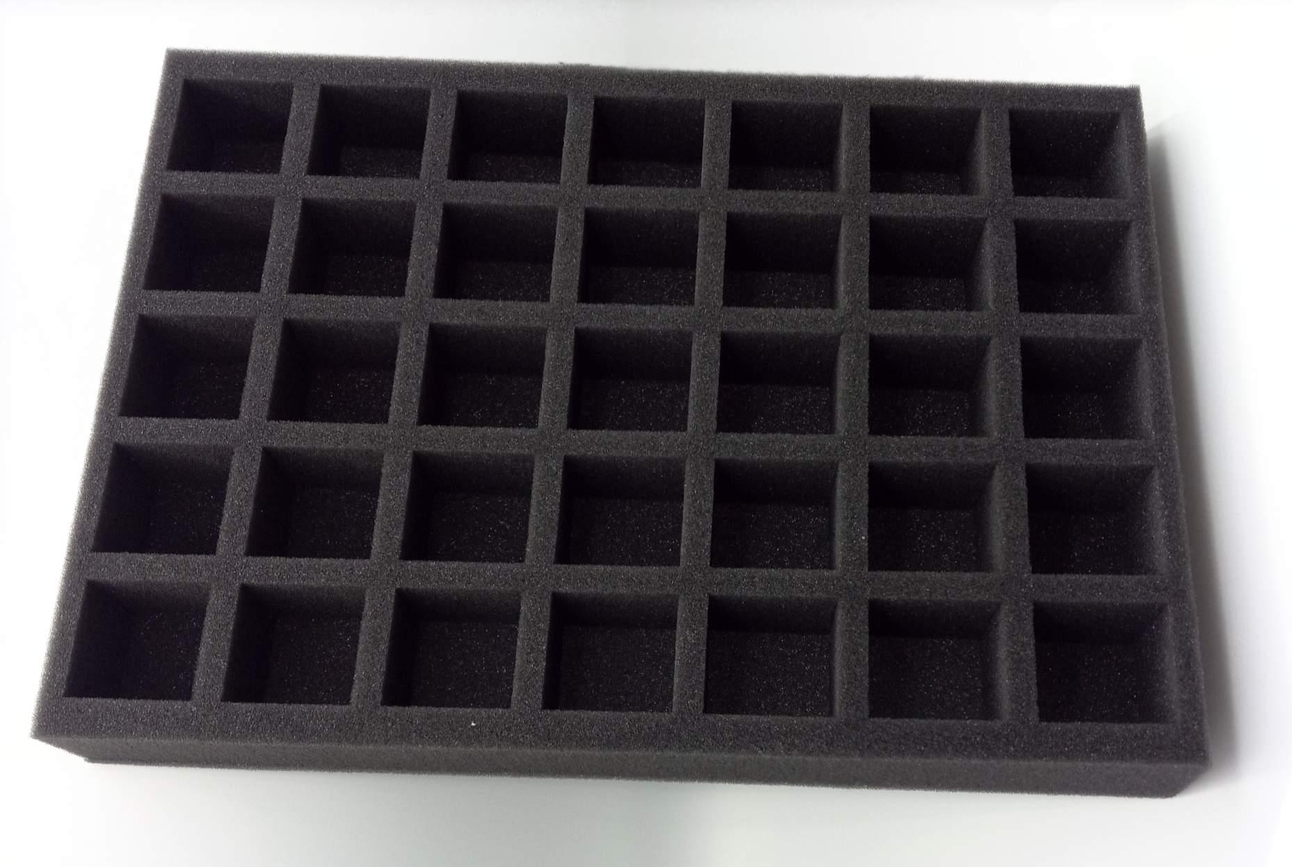 Foam box inlet